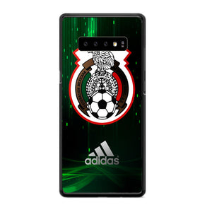 Mexico Soccer Green Black Samsung Galaxy S10 Plus Case | Frostedcase