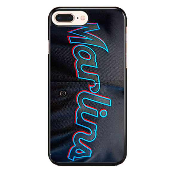 check out 85b42 9539b Miami Marlins Baseball Jersey iPhone 8 Plus Case | Frostedcase