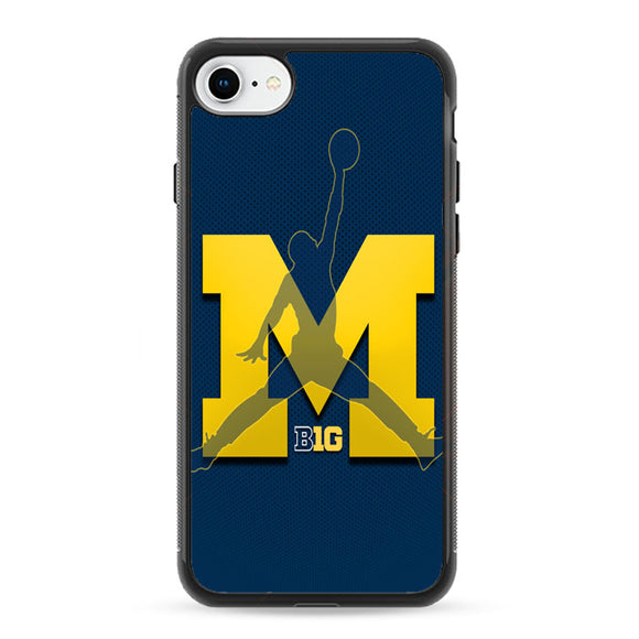 Michigan Wolverines Basketball iPhone 8 Case | Frostedcase
