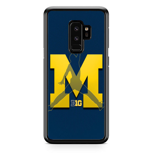 Michigan Wolverines Basketball Samsung Galaxy S9 Plus Case | Frostedcase
