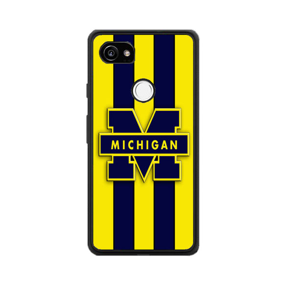 Michigan Wolverines Google Pixel 2 XL Case | Frostedcase