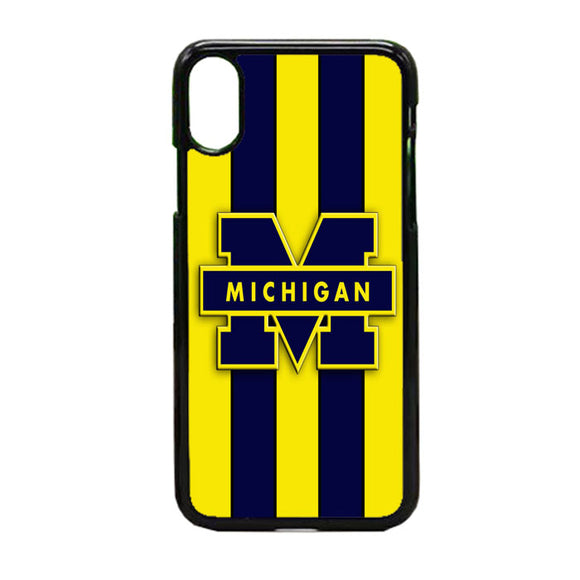 Michigan Wolverines iPhone X Case | Frostedcase