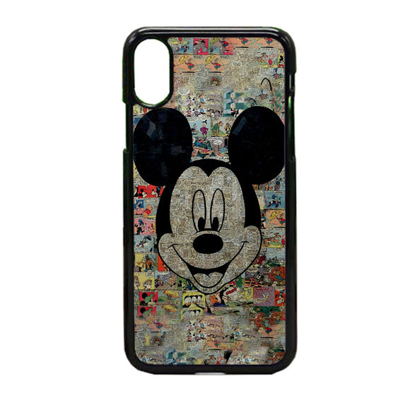 Micky Mouse Mozaik iPhone X Case | Frostedcase