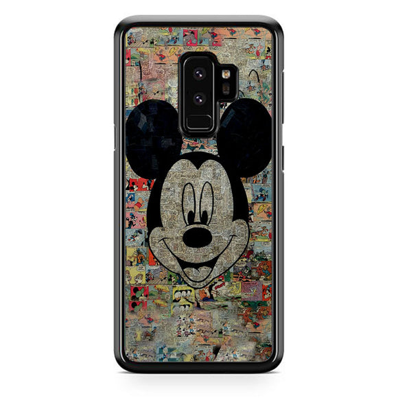 Micky Mouse Mozaik Samsung Galaxy S9 Plus Case | Frostedcase