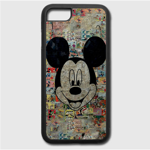 Micky Mouse Mozaik iPhone 7 Case | Frostedcase