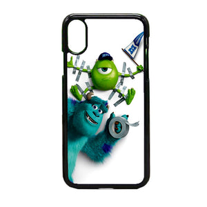 Mike And Sulley Monsters University iPhone X Case | Frostedcase