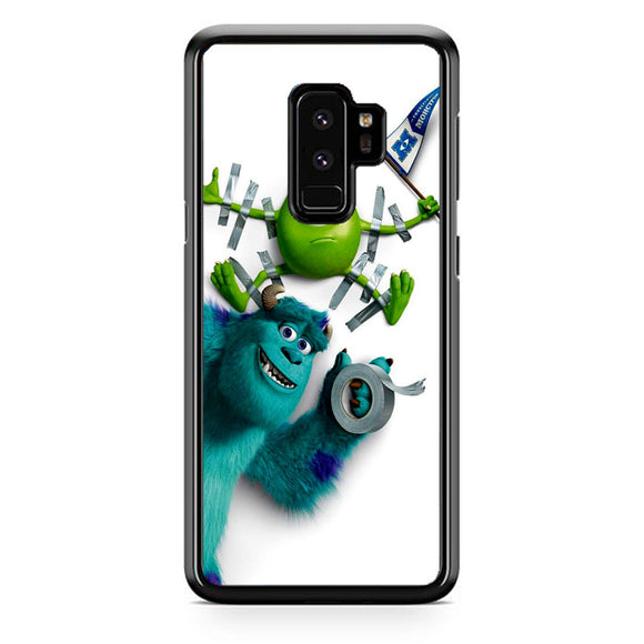 Mike And Sulley Monsters University Samsung Galaxy S9 Plus Case | Frostedcase