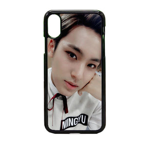 Mingyu Seventeen iPhone X Case | Frostedcase