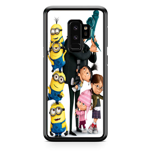 Minions Despicable Me Samsung Galaxy S9 Plus Case | Frostedcase