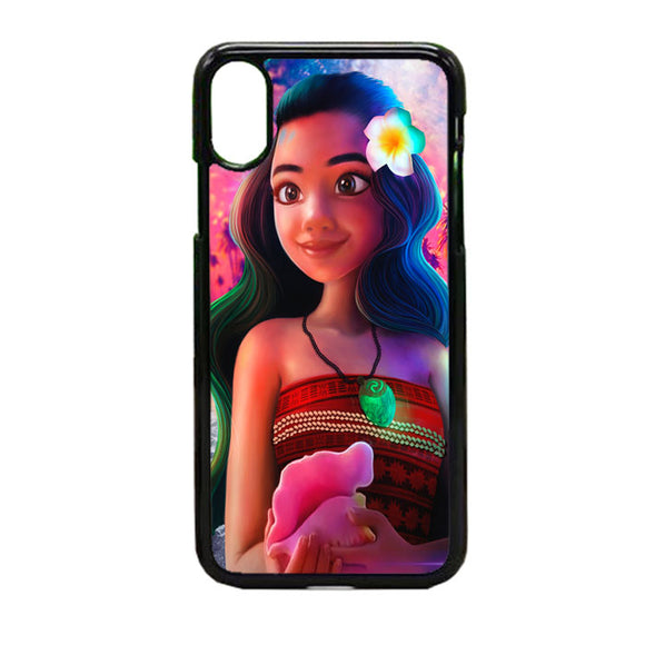 Moana Digital Painting iPhone X Case | Frostedcase