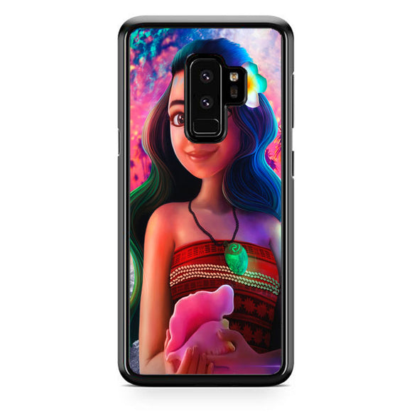 Moana Digital Painting Samsung Galaxy S9 Plus Case | Frostedcase