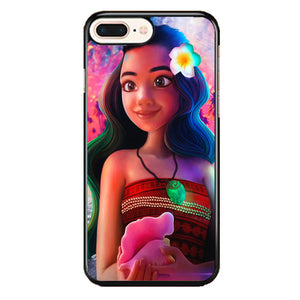 Moana Digital Painting iPhone 8 Plus Case | Frostedcase