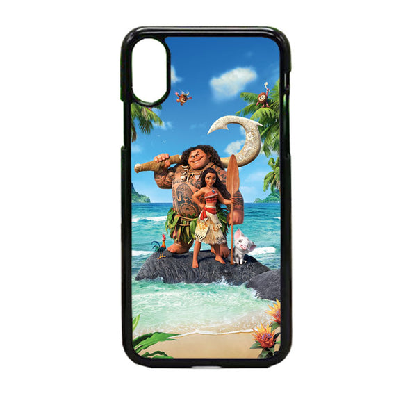 Moana In The Beach iPhone X Case | Frostedcase