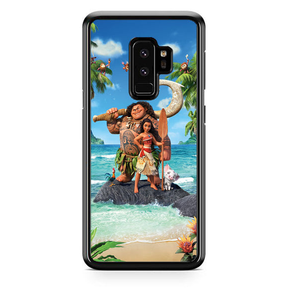 Moana In The Beach Samsung Galaxy S9 Plus Case | Frostedcase