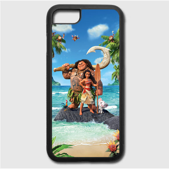 Moana In The Beach iPhone 7 Case | Frostedcase