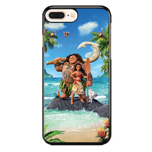 Moana In The Beach iPhone 8 Plus Case | Frostedcase