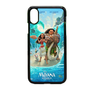 Moana Zootopia iPhone X Case | Frostedcase