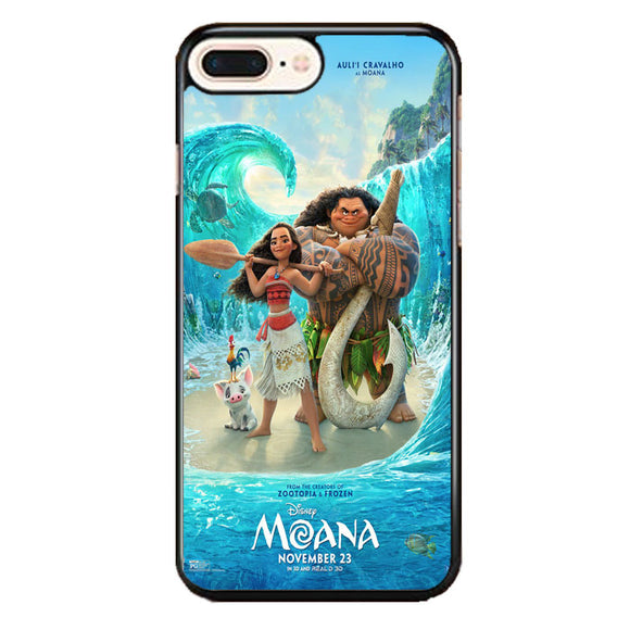 Moana Zootopia iPhone 8 Plus Case | Frostedcase