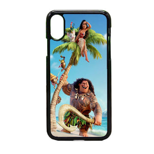 Mooana Poster iPhone X Case | Frostedcase