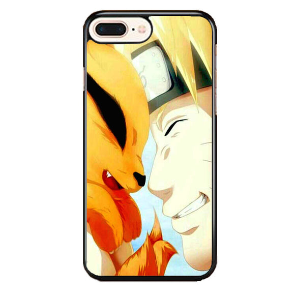 Naruto And Kurama iPhone 8 Plus Case | Frostedcase