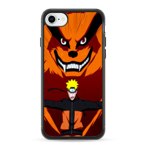 naruto bijuu mode perfect iphone 8 case frostedcase