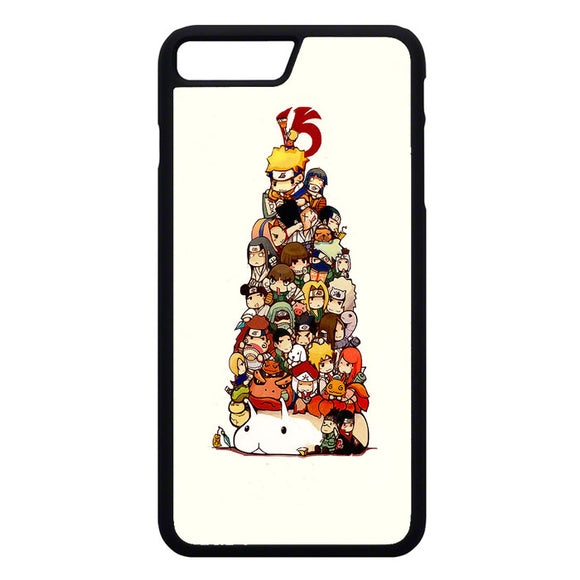 Naruto Chibi Art iPhone 7 Plus Case | Frostedcase
