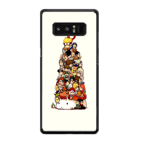 Naruto Chibi Art Samsung Galaxy Note 8 Case | Frostedcase