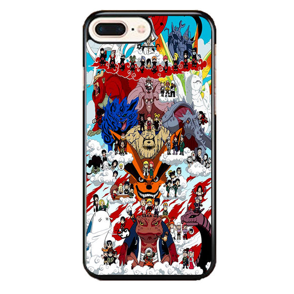 Naruto Shippuden Posters iPhone 8 Plus Case | Frostedcase