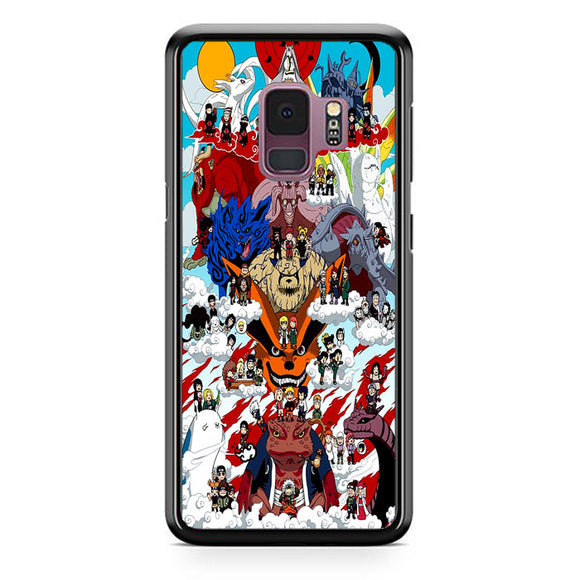 Naruto Shippuden Posters Samsung Galaxy S9 Case | Frostedcase