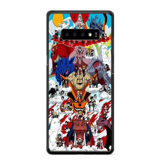 Naruto Shippuden Posters Samsung Galaxy S10 Case | Frostedcase