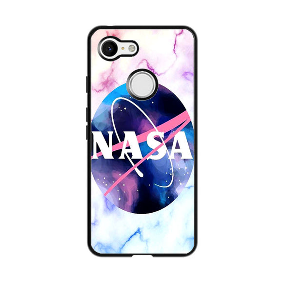 Nasa Marble Illustration Art Google Pixel 3 XL Case | Frostedcase