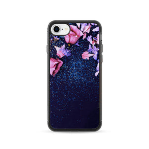 Nature Morning Dew Leaf Flower Rain Flare iPhone 8 Case | Frostedcase