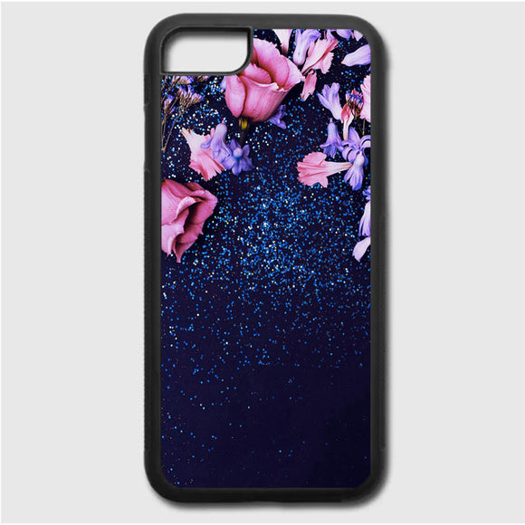 Nature Morning Dew Leaf Flower Rain Flare iPhone 7 Case | Frostedcase
