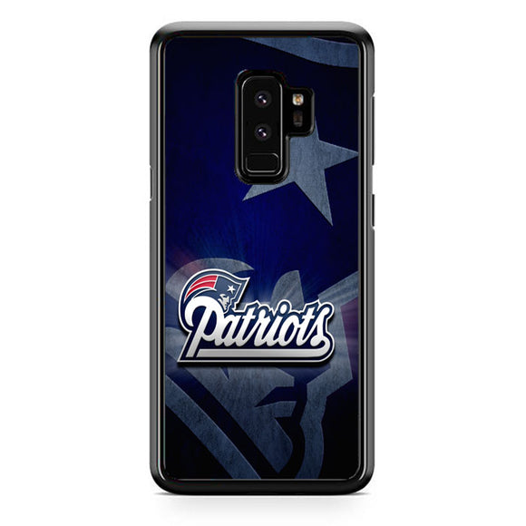 New England Patriots Samsung Galaxy S9 Plus Case | Frostedcase