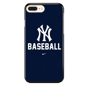 sports shoes ca80e c2b76 New York Yankees Baseball iPhone 8 Plus Case | Frostedcase