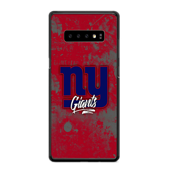 New York Giants Samsung Galaxy S10 Plus Case | Frostedcase