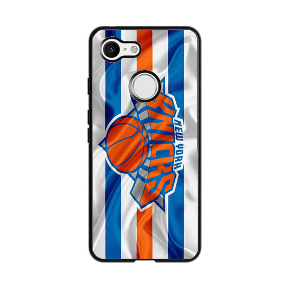 New York Knicks Logo Nba Google Pixel 3 Case | Frostedcase