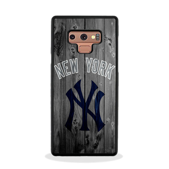 New York Yankees Baseball Wood Samsung Galaxy Note 9 Case | Frostedcase