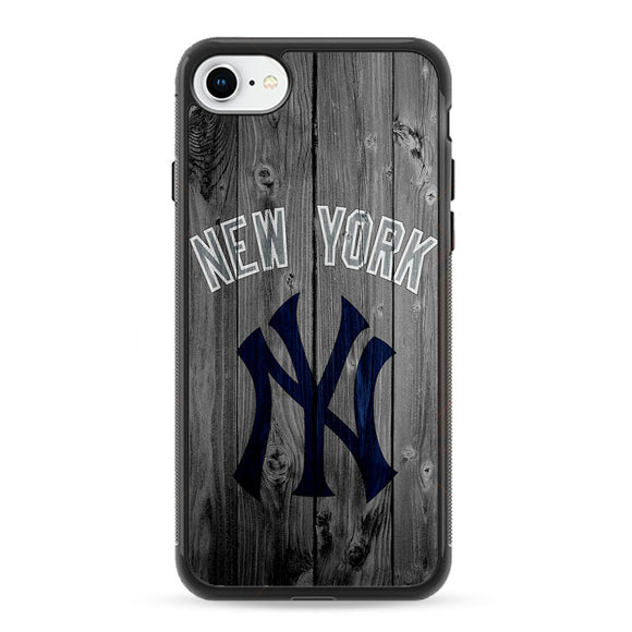 New York Yankees Baseball Wood iPhone 8 Case | Frostedcase