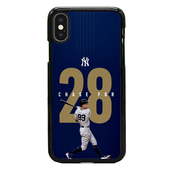 New York Yankees Chase For 28 iPhone XS Max Case | Frostedcase