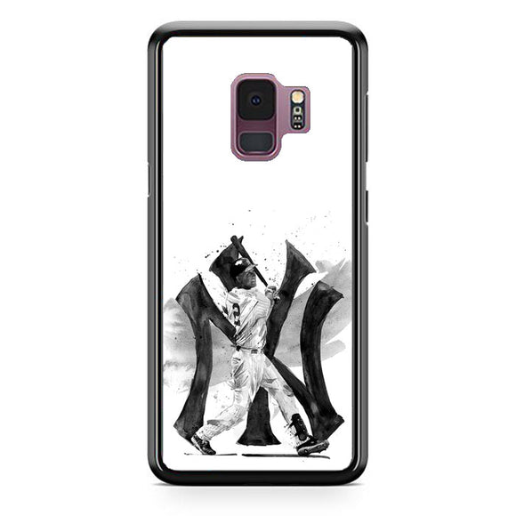 New York Yankees Drawings Samsung Galaxy S9 Case | Frostedcase