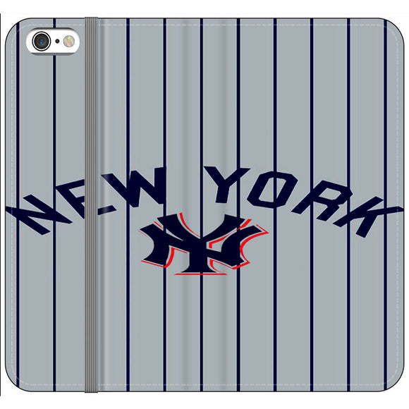 New York Yankees Jersey iPhone 6 Plus|6S Plus Flip Case | Frostedcase