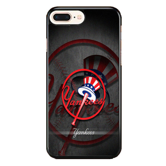 New York Yankees Logo Art iPhone 7 Plus Case | Frostedcase