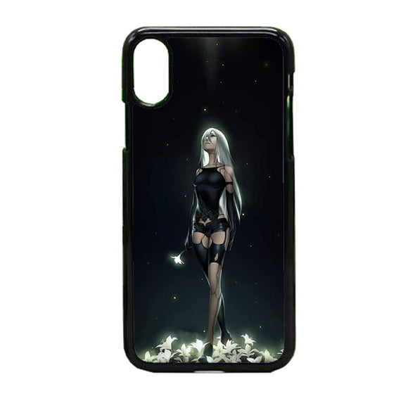 Nier Automata Lunar Tear iPhone X Case | Frostedcase
