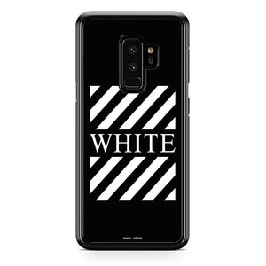 meet 8b56d 292f3 Off White Bunny Joeson Samsung Galaxy S9 Plus Case   Frostedcase