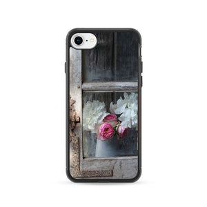 Old Window With Flowers iPhone 8 Case | Frostedcase
