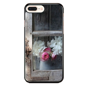 Old Window With Flowers iPhone 8 Plus Case | Frostedcase