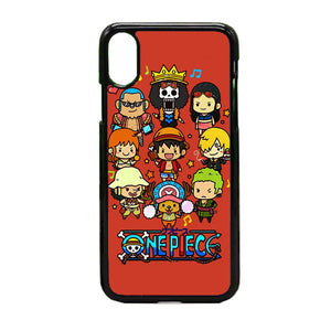 One Pice Cartoon iPhone X Case | Frostedcase
