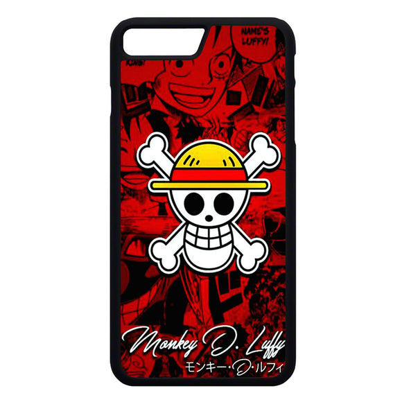 One Pice Monkey D Luffy iPhone 7 Plus Case | Frostedcase