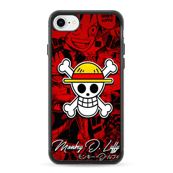 One Pice Monkey D Luffy iPhone 8 Case | Frostedcase